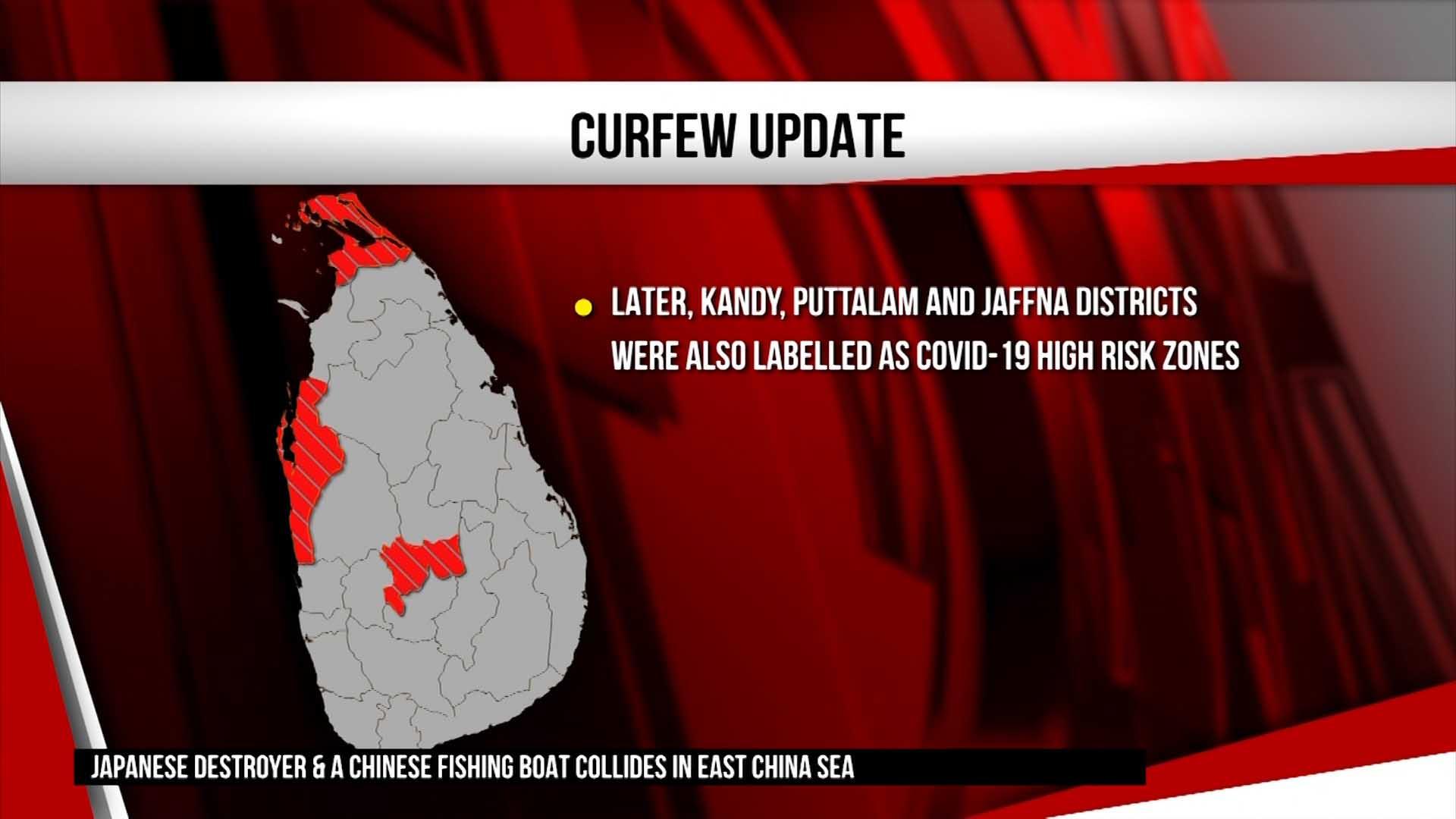 Sri Lanka Police warns of strict action against violators of curfew (English)