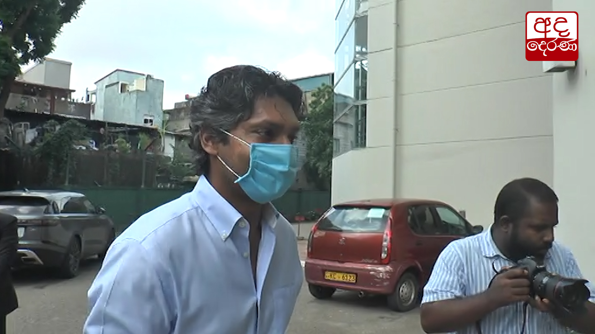 Sangakkara arrives at Sports Ministry's SIU