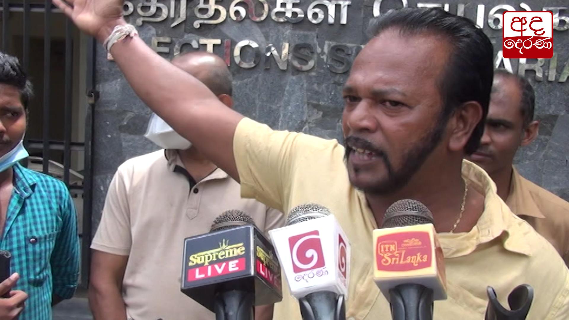 Thewarapperuma comments on Sajith