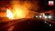 Fuel boswer caught on fire on expressway