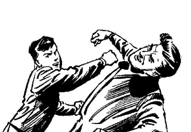 கூட்டமைப்பு வேட்பாளர் மீது தாக்குதல்