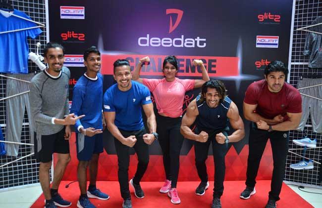 deedat Active Wear அறிமுக நிகழ்வில் deedat Challenge