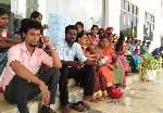 வடமாகாண தொண்டர் ஆசிரியர்கள் நிரந்தர நியமனத்தை வழங்ககோரி கவனயீர்ப்பு போராட்டம்