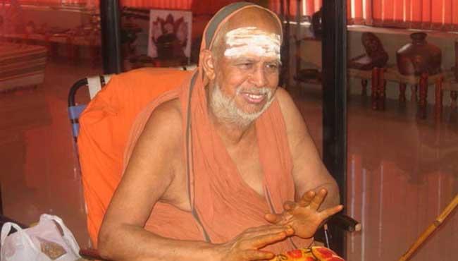Image result for ஜெயேந்திர சரஸ்வதி சுவாமிகள் (வயது 82). கடந்த மாதம் அவருக்கு மூச்சுத் திணறல்