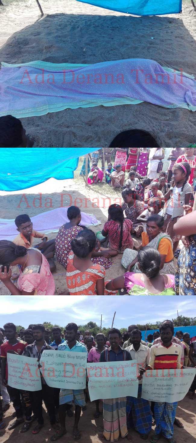 யானை தாக்கி இதுவரை 25 பேர் பலி - மக்கள் சடலத்துடன் போராட்டம் (படங்கள்)