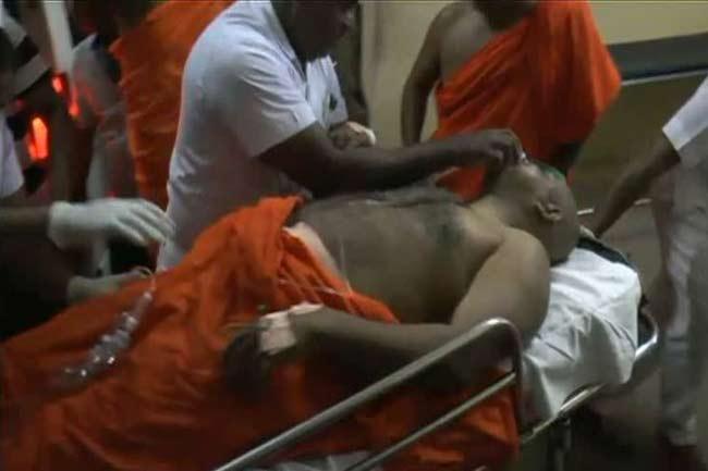 கிரிவெஹர ரஜமகா விகாரை தேரர்கள் மீது துப்பாக்கி பிரயோகம்