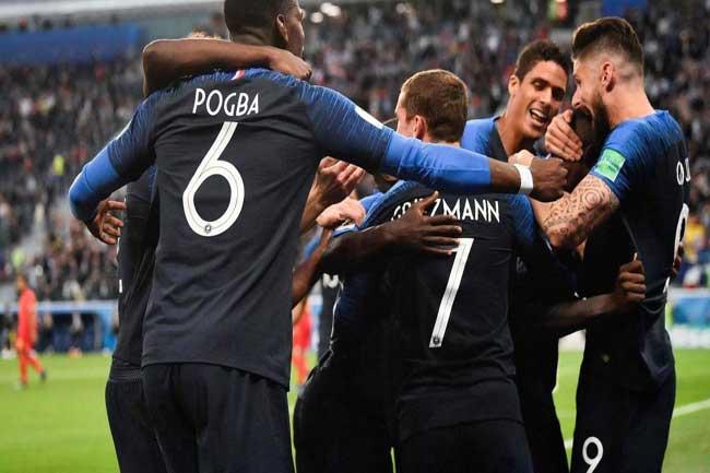 பெல்ஜியத்தை வீழ்த்தி இறுதி போட்டியில் நுழைந்தது பிரான்ஸ்