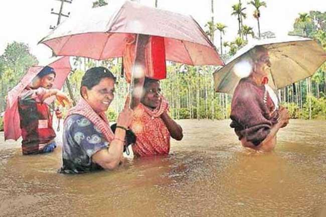 கன மழைக்கு 26 பேர் பலி - 5 கோடி ரூபா நிவாரணம்
