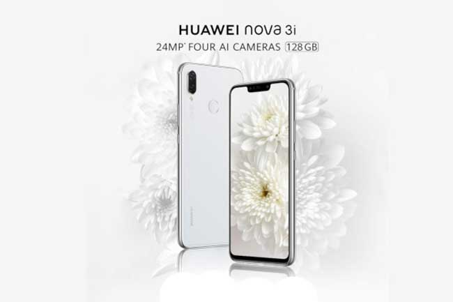 nova 3i White Edition ஸ்மார்ட்போனை Huawei இலங்கையில் அறிமுகப்படுத்தியுள்ளது