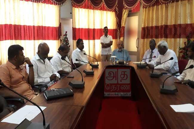 தமிழ் அரசியல் கைதிகளின் விடுதலை தொடர்பில் விஷேட கலந்துரையாடல்