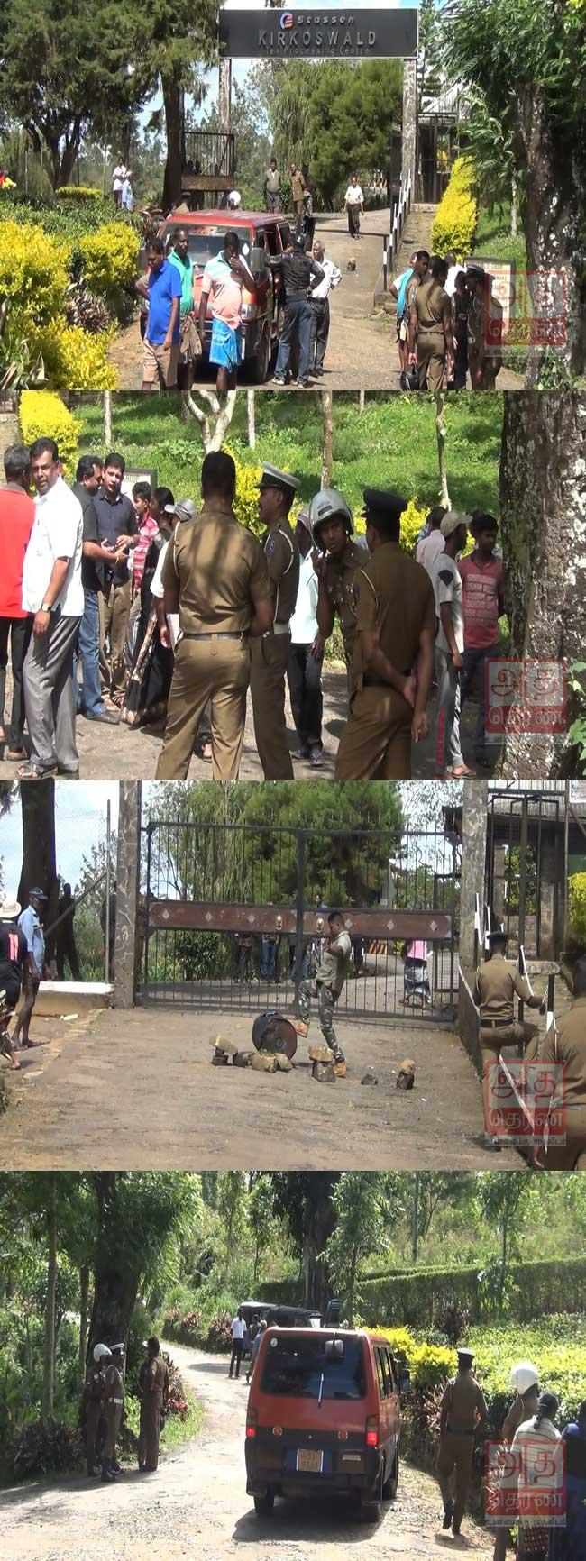 1000 ரூபா அடிப்படை சம்பளத்தை வலியுறுத்தி ஆர்ப்பாட்டம்