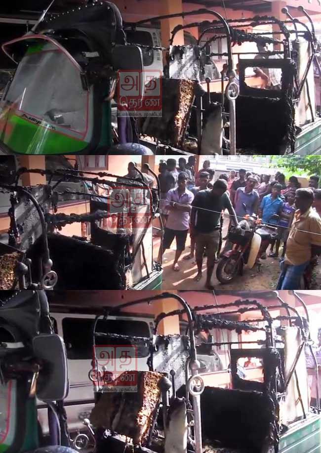 கோப்பாய் பிரதேசத்தில் வீடொன்றின் மீது பெற்றோல் குண்டுத் தாக்குதல்