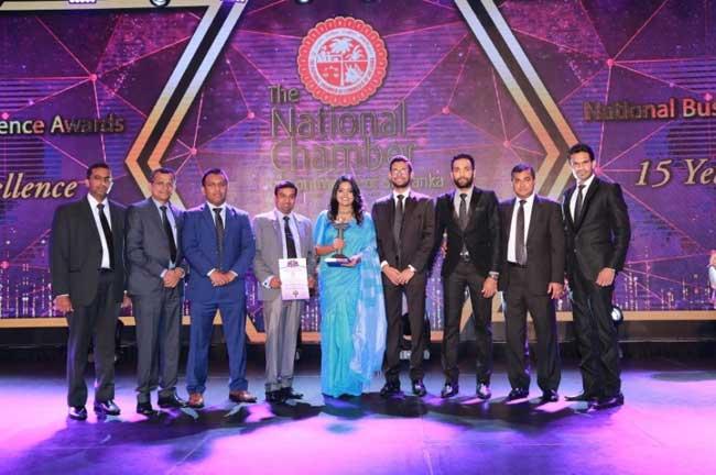 2018 தேசிய வியாபார சிறப்பு விருதுகள் 2018 இல் மூன்றாவது தொடர் விருதை CDB சுவீகரிப்பு