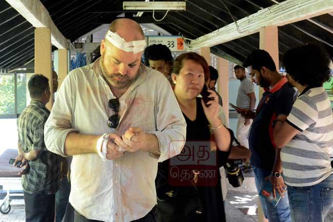 வெடிப்புச் சம்பவங்களில் 32 வெளிநாட்டவர்கள் பலி