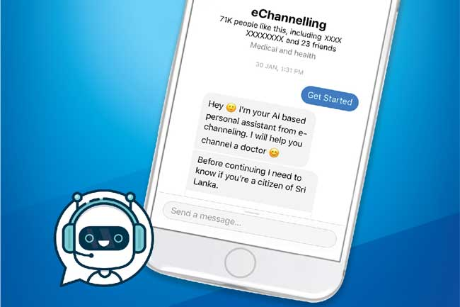 eChannelling இலங்கையின் முதலாவது செயற்கை நுண்ணறிவு சார்ந்த Chatbot இனை அறிமுகப்படுத்துகிறது