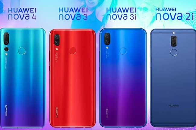Huawei Nova: பல ஆண்டுகளின் பரிணாமம்