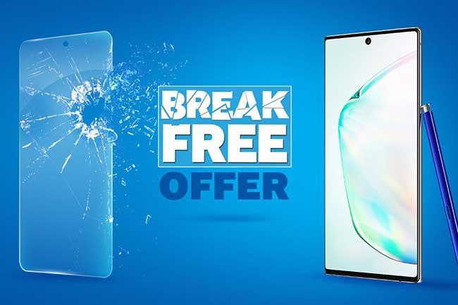 Galaxy Note10|10+ மற்றும் Galaxy A80 ஆகியவற்றுக்கு 'Break Free' சலுகையை மீண்டும் வழங்கிடும் Samsung