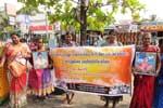 மட்டக்களப்பில் காணாமல் ஆக்கப்பட்டோரின் உறவினர்கள் கவனயீர்ப்பு ஆர்பாட்டம்
