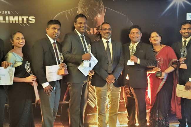 SLIM NASCO 2019 நிகழ்வில் மொபிடெலின் விற்பனை ஊழியர்கள் விருதுகளை சுவீகரிப்பு