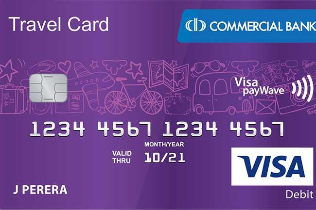 நவீன தொழில்நுட்பத்துடன் முன் கூட்டி பணம் செலுத்தப்பட்ட பயணக் கார்ட்டுகளை (Pre-paid Travel Card) அறிமுகம் செய்துள்ள கொமர்ஷல் வங்கி