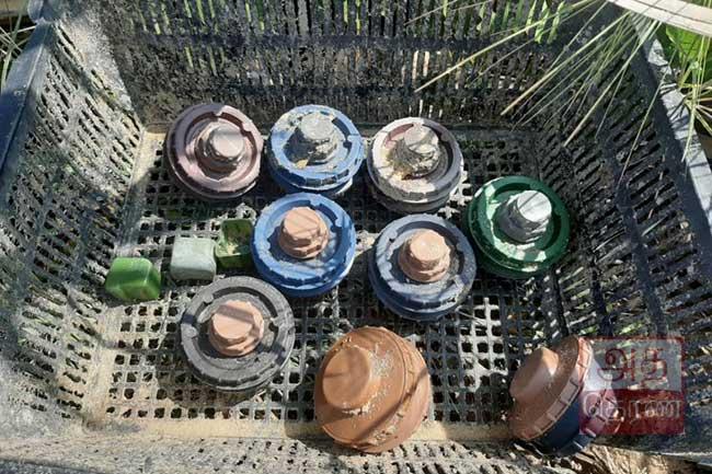 முல்லைத்தீவு வட்டுவாகல் பகுதியில் மிதிவெடிகள் மீட்பு