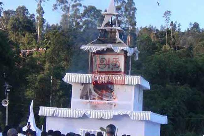 அக்னியில் சங்கமமாகி தொண்டமான்