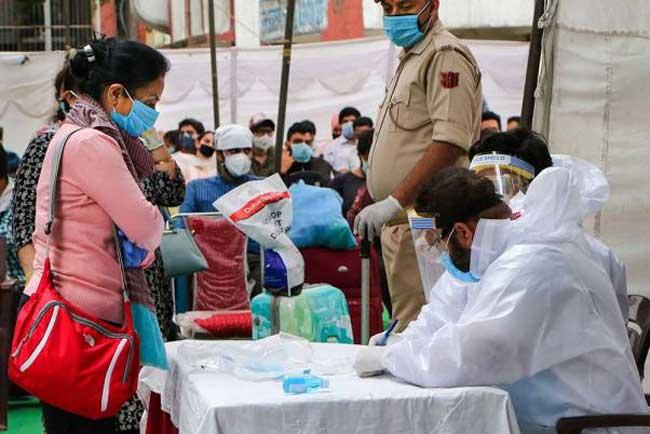 இந்தியாவில் 7 இலட்சம் பேர் கொரோனாவால் பாதிப்பு!