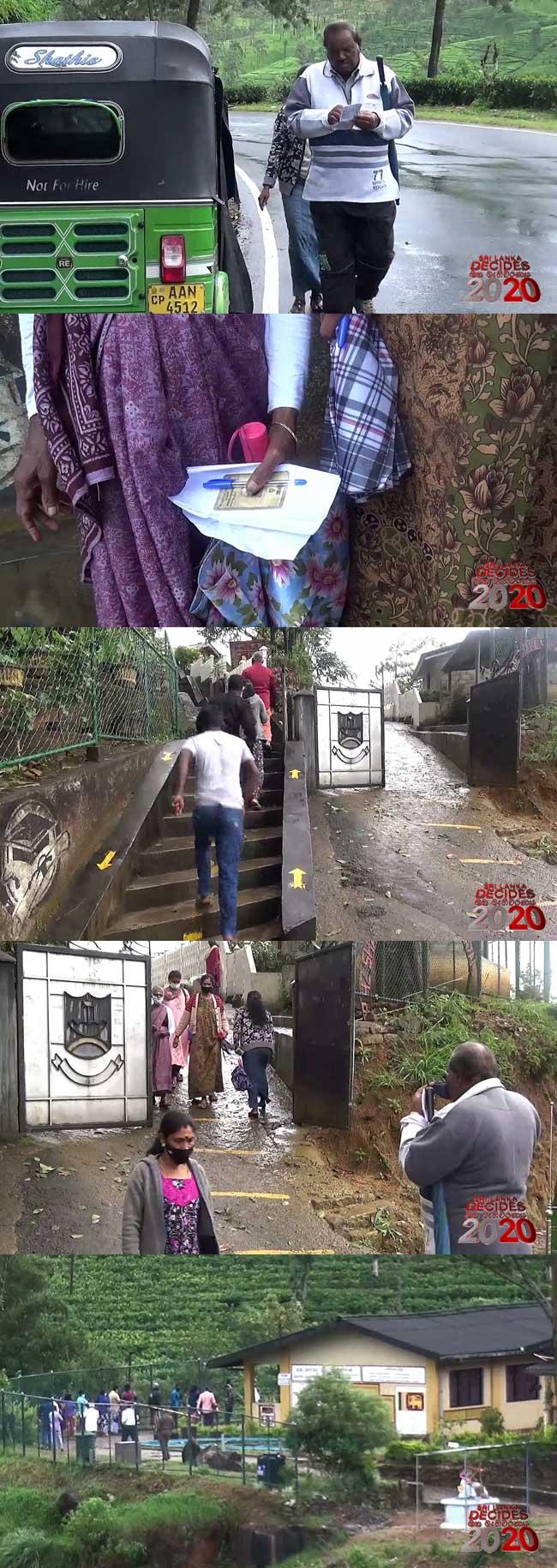 நுவரெலியா மாவட்ட வாக்கெடுப்பு