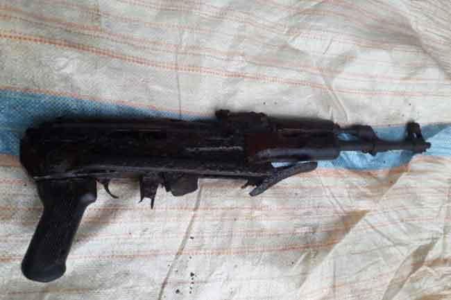 ரி-56 ரக துப்பாக்கி விசேட அதிரடிப்படையினரால் மீட்பு