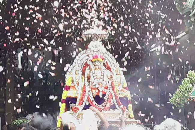 மஹோற்சவ தேர்த் திருவிழா