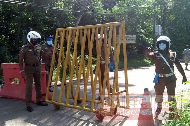 அட்டுலுகமவில் 8 கிராம சேவகர் பிரிவுகள் தனிமைப்படுத்தலுக்கு