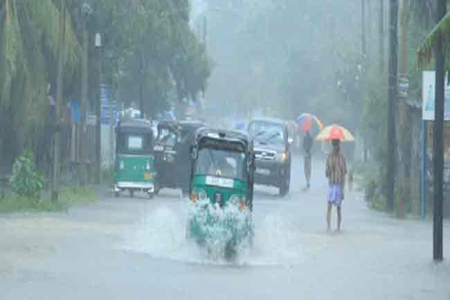 வவுனியாவில் தொடரும் மழை காரணமாக  178 பேர் பாதிப்பு