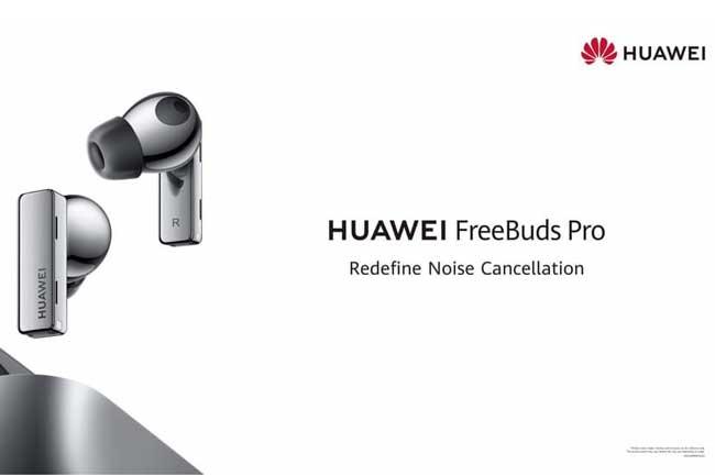 Huawei FreeBuds Pro வினால் இயக்கப்படும் Active Noise Cancellation உடன் எல்லா இடங்களிலும் இணைந்திருங்கள்