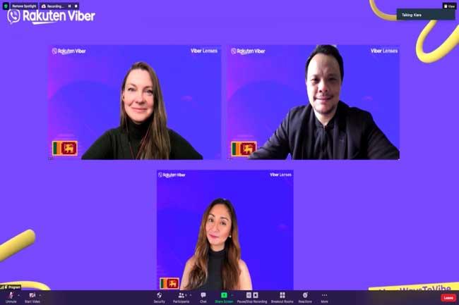 Rakuten Viber தனது பிந்திய Augmented Reality (AR) உட்புகுத்தப்பட்ட Viber Lens ஐ இலங்கையில் அறிமுகப்படுத்தியது