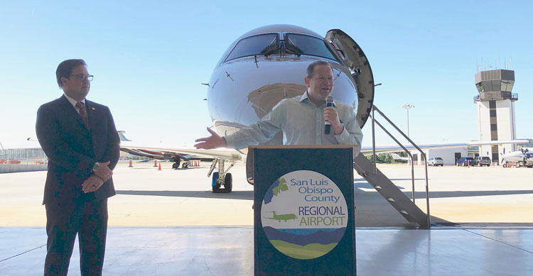 Adam Hill: SLO airport adds flight to Las Vegas