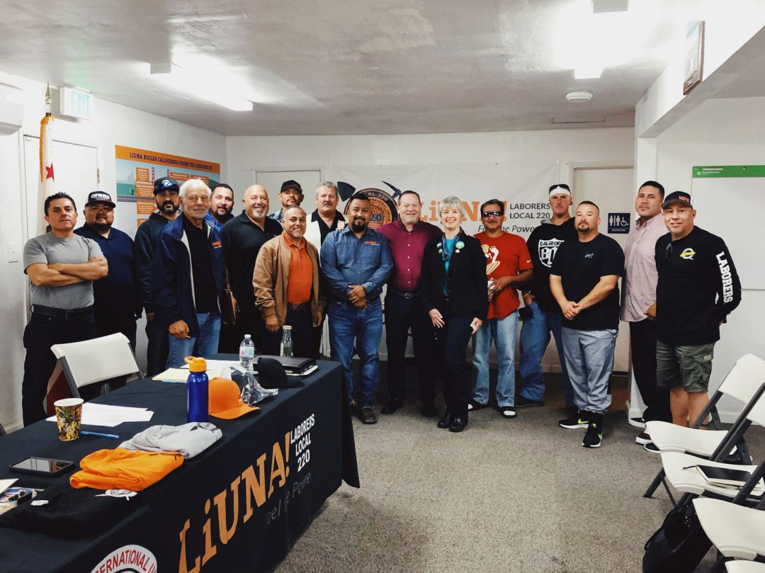 Adam Hill endorsed by LiUNA 220 for SLO County Supervisor 2020