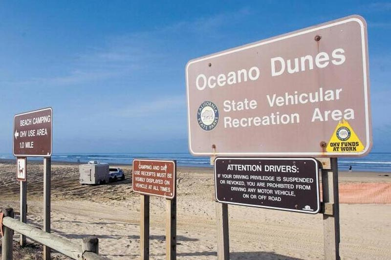 Supervisor Adam Hill's position about Oceano Dunes
