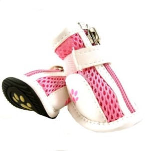 Summer Kixx pink dog sneakers