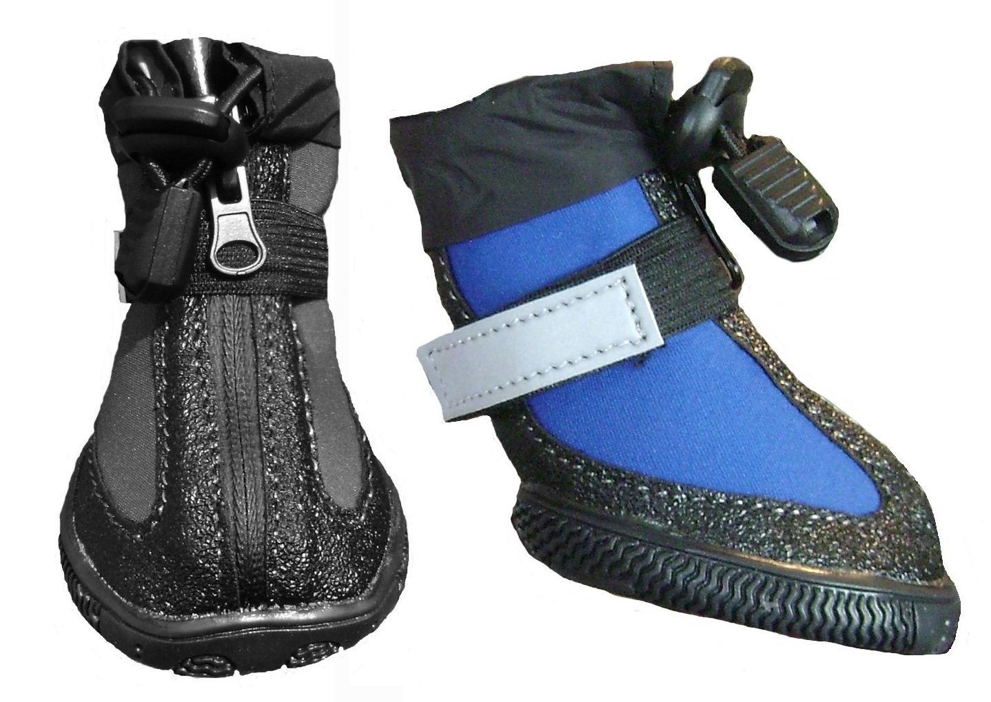 zipper dog boots
