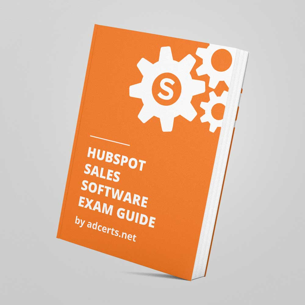 HubSpot Sales Software Exam Answers by adcerts.net