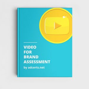 Video for Brand Assessment Answers by adcerts.net