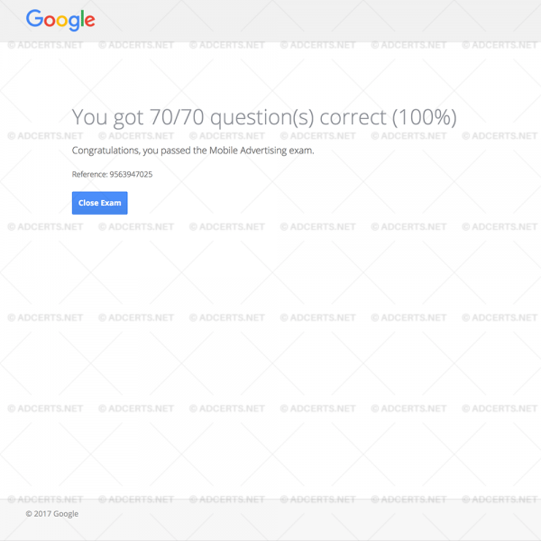 100% CORRECT ANSWERS Google AdWords Mobile Exam Answers