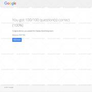 100% CORRECT ANSWERS Google AdWords Display Exam Answers