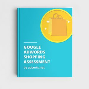 AdWords Shopping Assessment Answers by adcerts.net