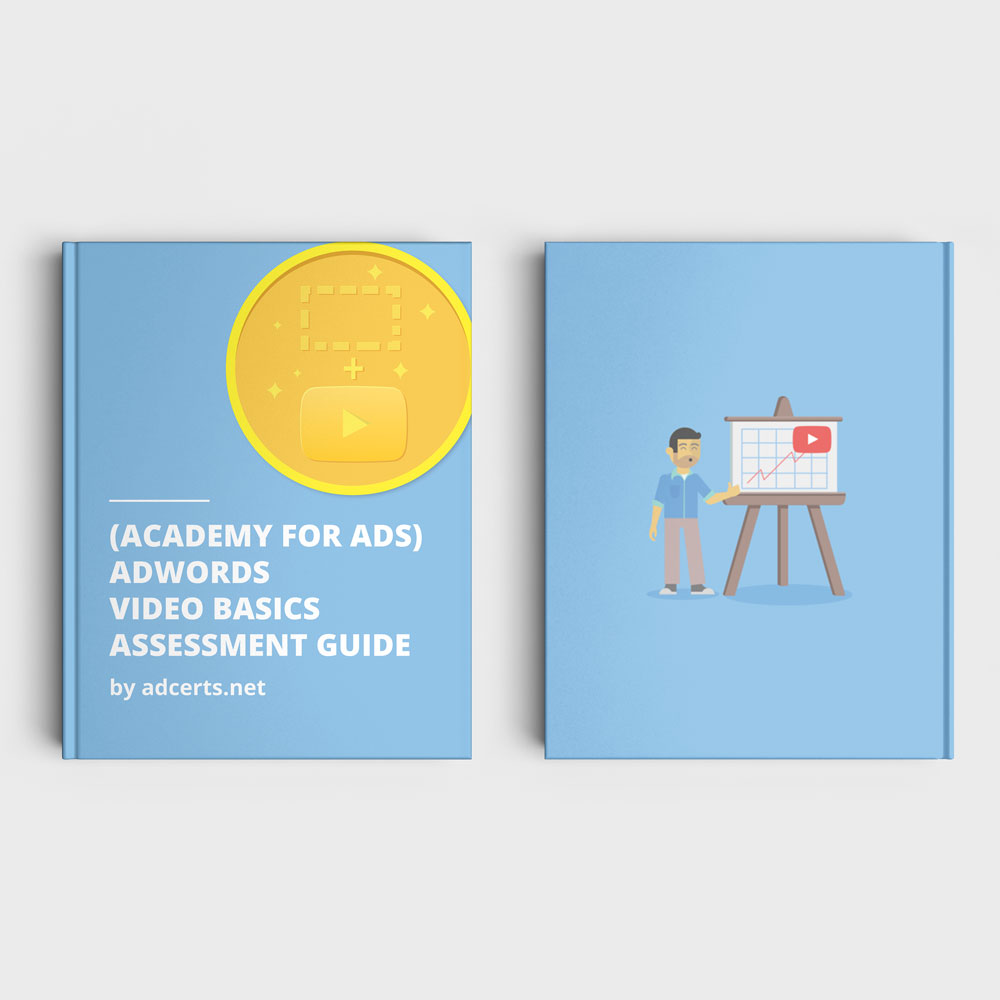 Academy for Ads - AdWords Video Basics Assessment Answers by adcerts.net