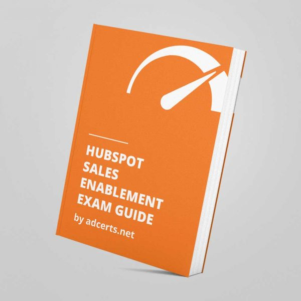 HubSpot Sales Enablement Exam Answers by adcerts.net