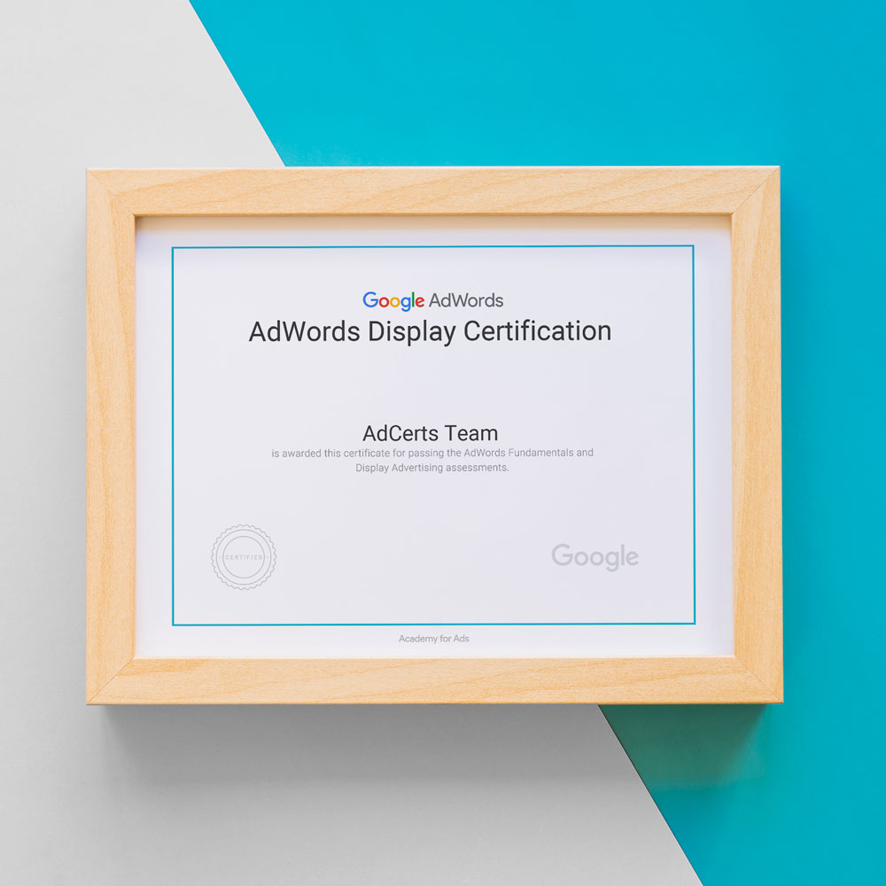 Academy for Ads - Google AdWords Display Advertising Certification Answers