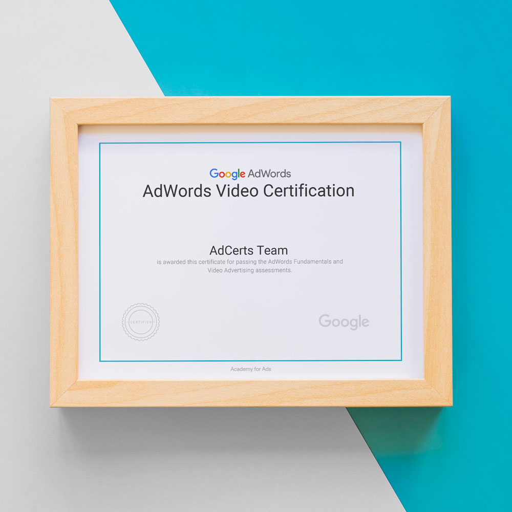 Academy for Ads - Google AdWords Video Advertising Certification Answers