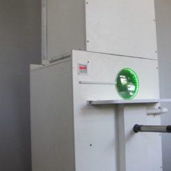 Установка-дозатор для виробництва курток-пуховиків.