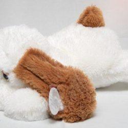 Собачка-лежачий-тузик-белый